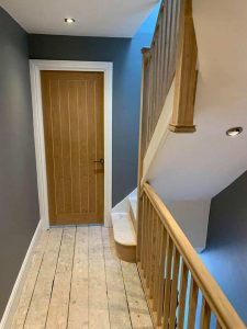 stairs to loft extension