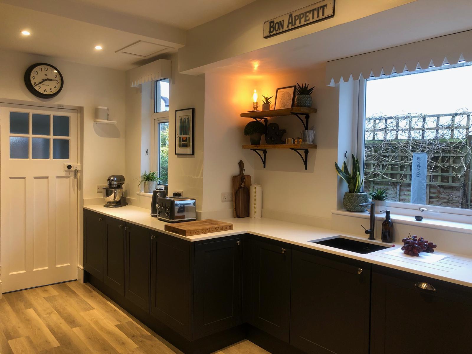Kitchen extension Westbury 10